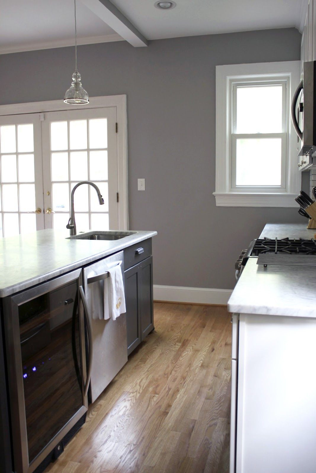 Best ideas about Behr Paint Colors Gray . Save or Pin Behr porpoise I love the gray walls with the wood floors Now.