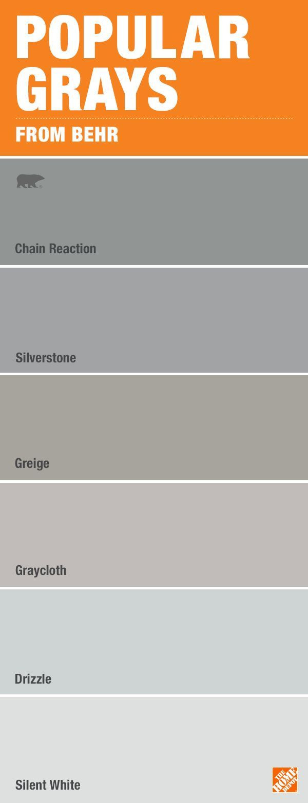 Best ideas about Behr Paint Colors Home Depot . Save or Pin Best 25 Gray paint colors ideas on Pinterest Now.