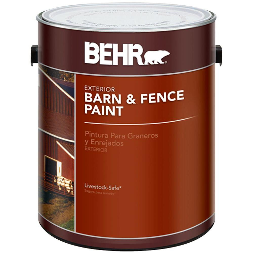 Best ideas about Behr Paint Colors Home Depot . Save or Pin BEHR 1 gal Red Barn and Fence Exterior Paint The Now.