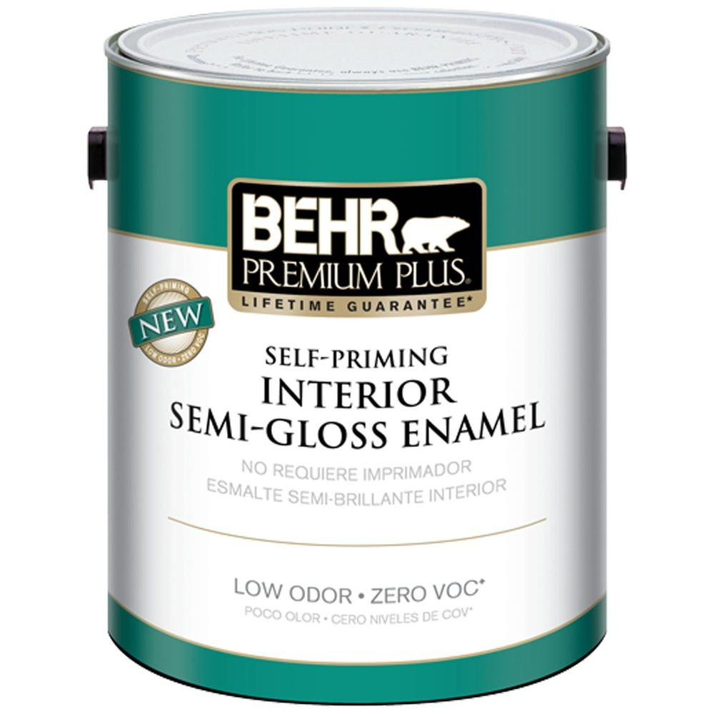 Best ideas about Behr Paint Colors Home Depot . Save or Pin BEHR Premium Plus 1 gal Swiss Coffee Semi Gloss Enamel Now.