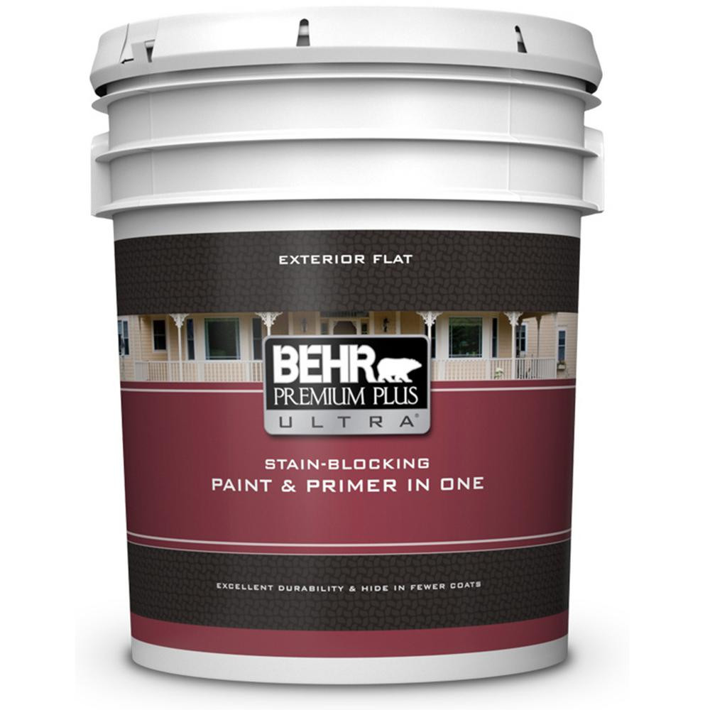 Best ideas about Behr Paint Colors Home Depot . Save or Pin BEHR Premium Plus Ultra 5 gal Ultra Pure White Flat Now.