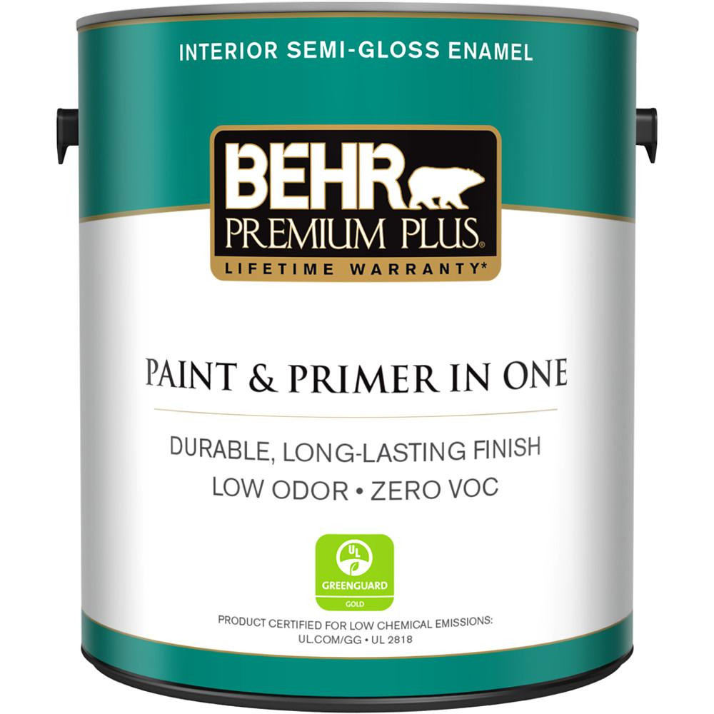 Best ideas about Behr Paint Colors Home Depot . Save or Pin BEHR Premium Plus 1 gal Ultra Pure White Semi Gloss Now.