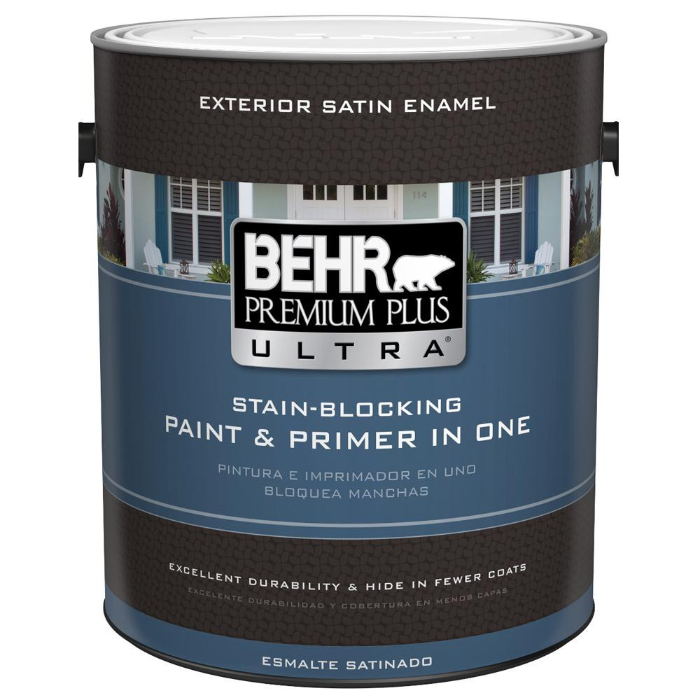 Best ideas about Behr Paint Colors Home Depot . Save or Pin BEHR Premium Plus Ultra 1 gal Ultra Pure white Satin Now.