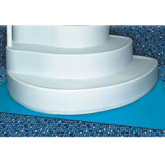 Best ideas about Best Above Ground Pool Pad . Save or Pin Deluxe Ground Swimming Pool Step Pad Now.