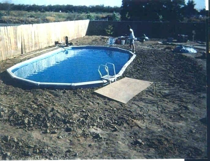Best ideas about Best Above Ground Pool Pad . Save or Pin Ground Pool Liner Pad Installing A With Sand Base Now.