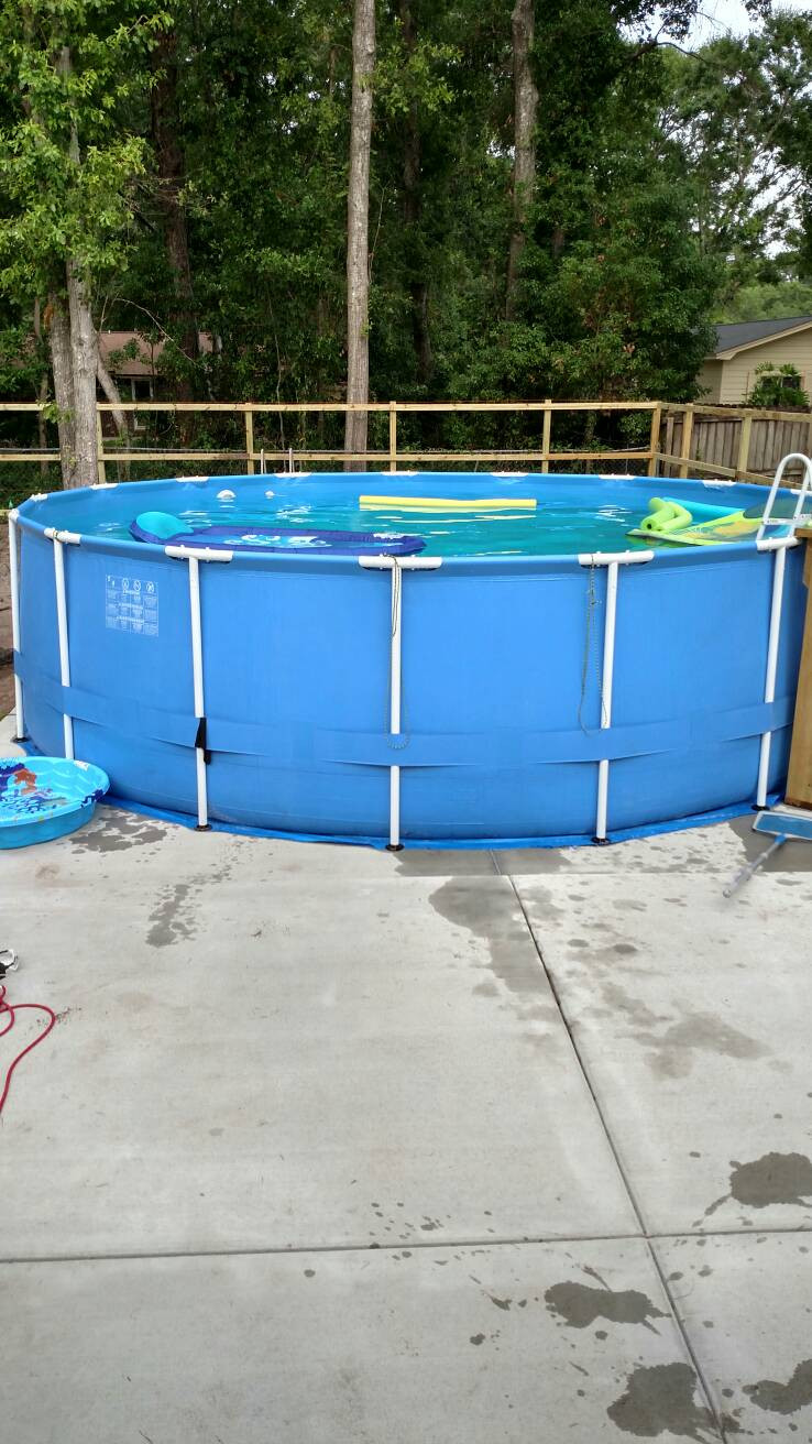 Best ideas about Best Above Ground Pool Pad . Save or Pin Best underlayment for concrete pad for frame pool Now.