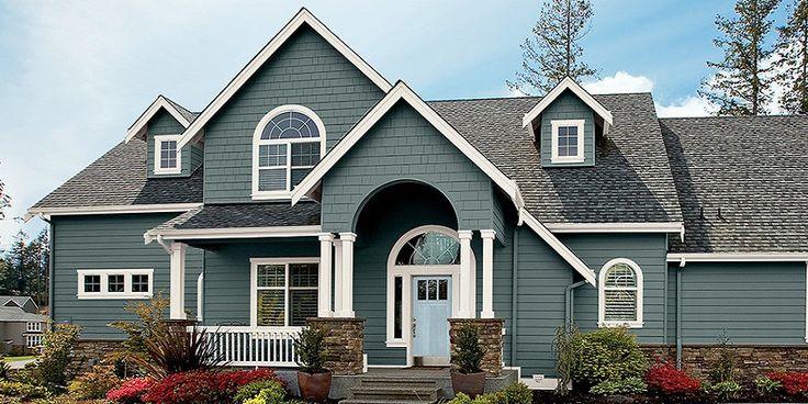 Best ideas about Best Exterior House Paint Colors . Save or Pin Design Exterior House Paint Colors Top Trends 2018 Now.