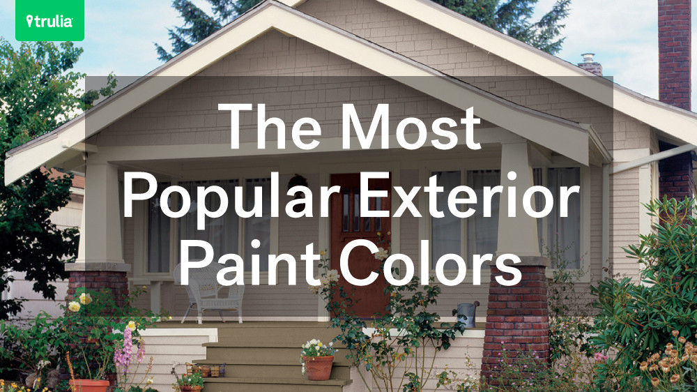 Best ideas about Best Exterior House Paint Colors . Save or Pin The Most Popular Exterior Paint Colors Now.