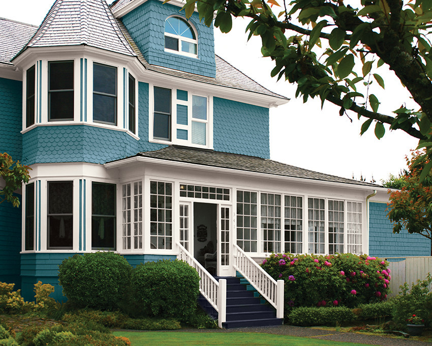 Best ideas about Best Exterior House Paint Colors . Save or Pin Exterior house paint color ideas craftsman exterior house Now.