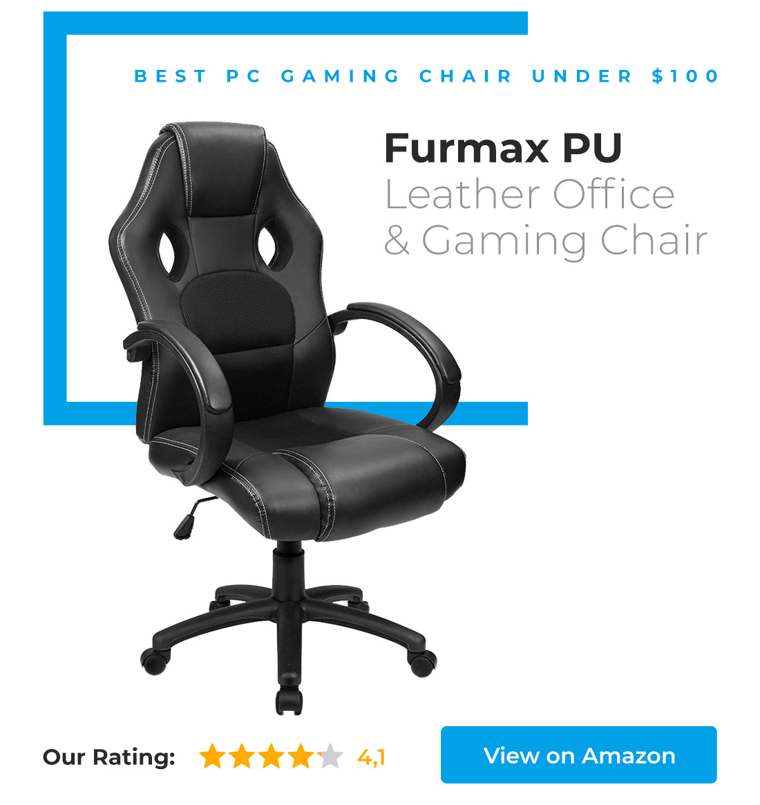 Best ideas about Best Gaming Chair Under 100 . Save or Pin 14 New & Best fice Chairs in 2018 Now.