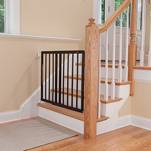 Best ideas about Best Gate For Top Of Stairs . Save or Pin Safety 1st Top of Stairs Decor Swing Gate Baby Toddler Now.