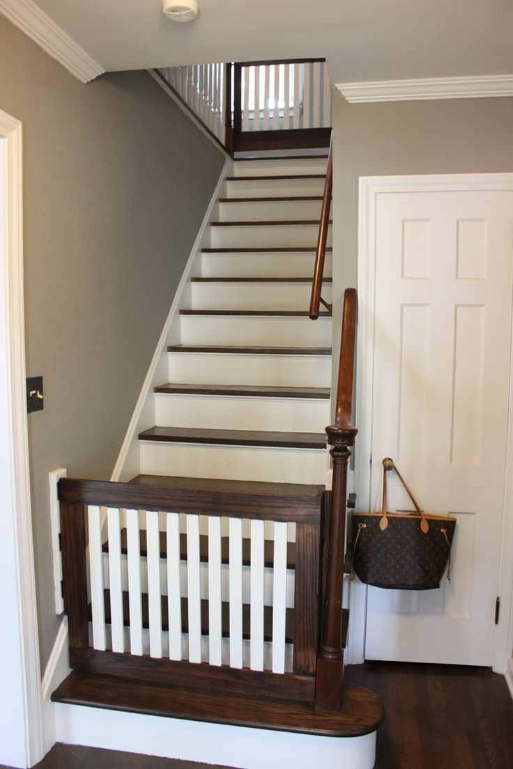 Best ideas about Best Gate For Top Of Stairs . Save or Pin 25 best ideas about Baby Gates Stairs on Pinterest Now.