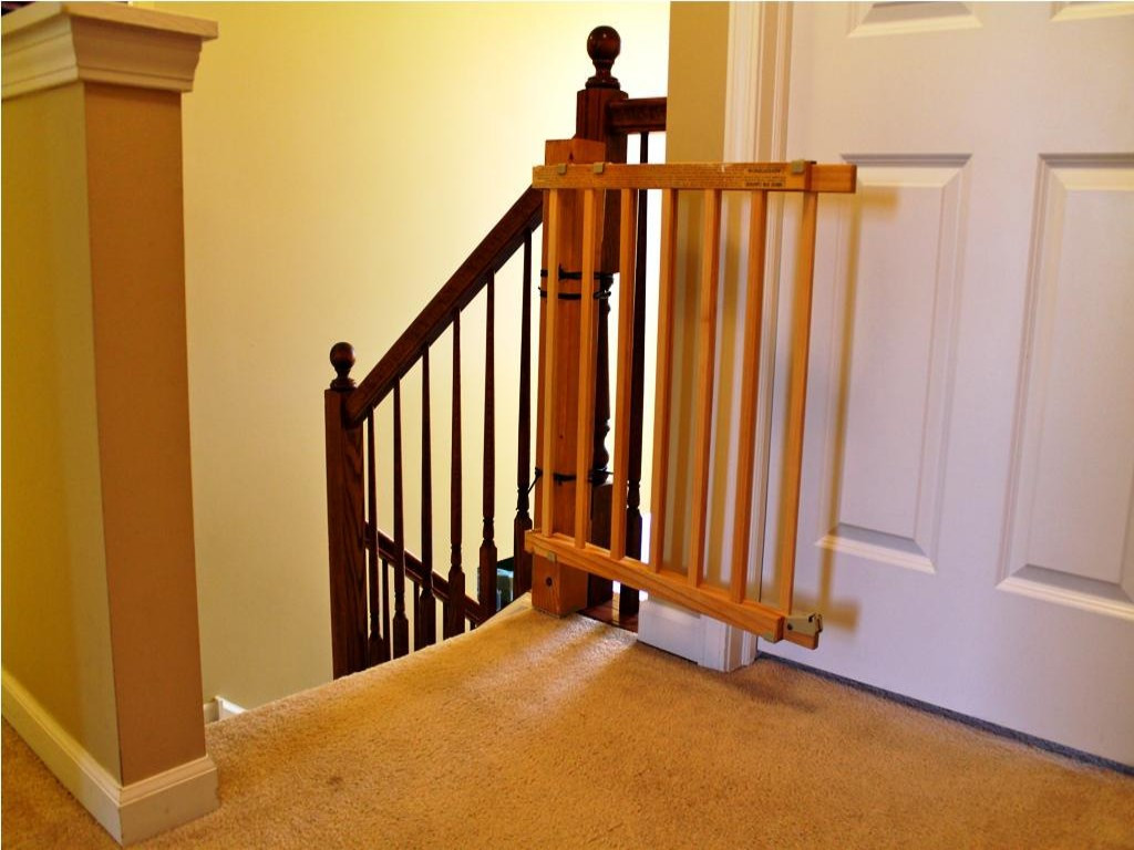 Best ideas about Best Gate For Top Of Stairs . Save or Pin Best Baby Gates For Top Stairs Picture HOUSE EXTERIOR Now.