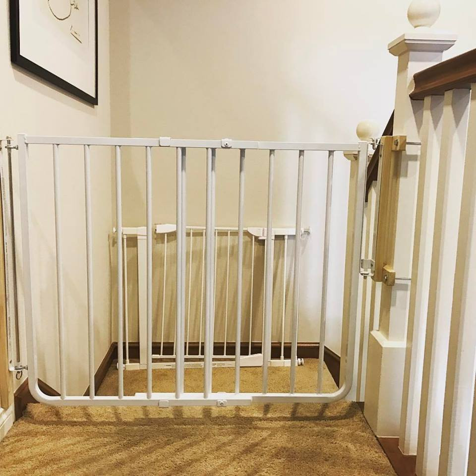 Best ideas about Best Gate For Top Of Stairs . Save or Pin Best gate for top of stairs Now.