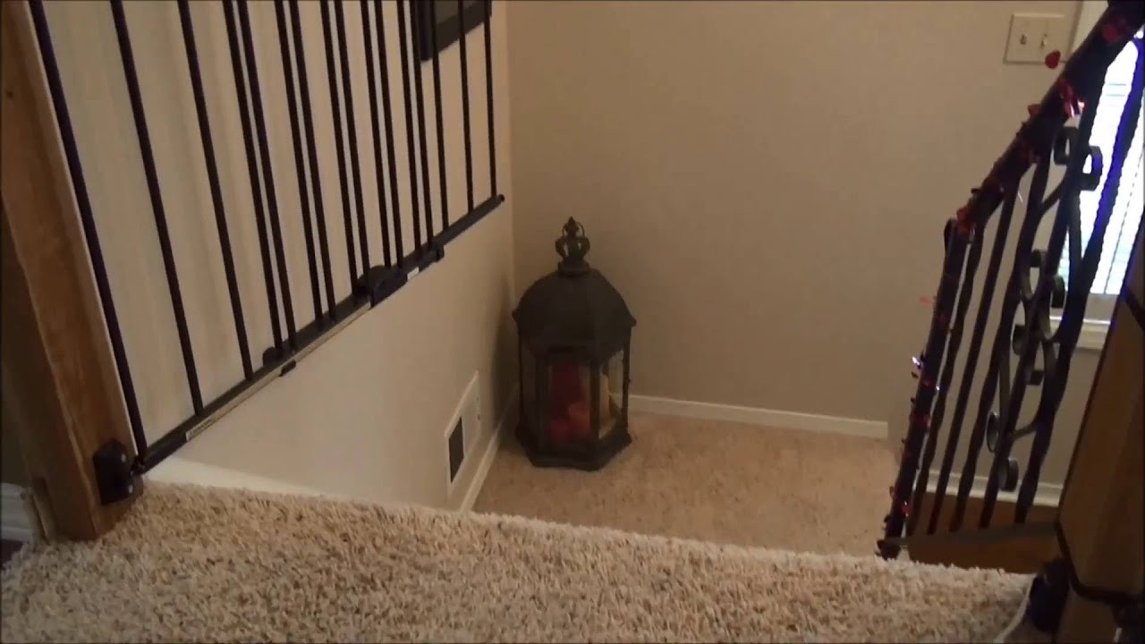 Best ideas about Best Gate For Top Of Stairs . Save or Pin How to install Baby Gate Top of Stairs Now.