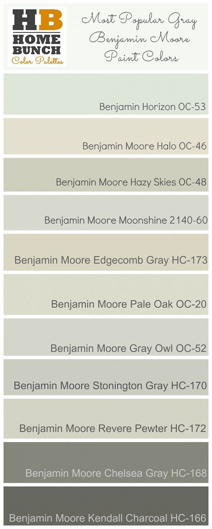 Best ideas about Best Gray Paint Colors Benjamin Moore . Save or Pin 25 best ideas about Benjamin Moore Horizon on Pinterest Now.
