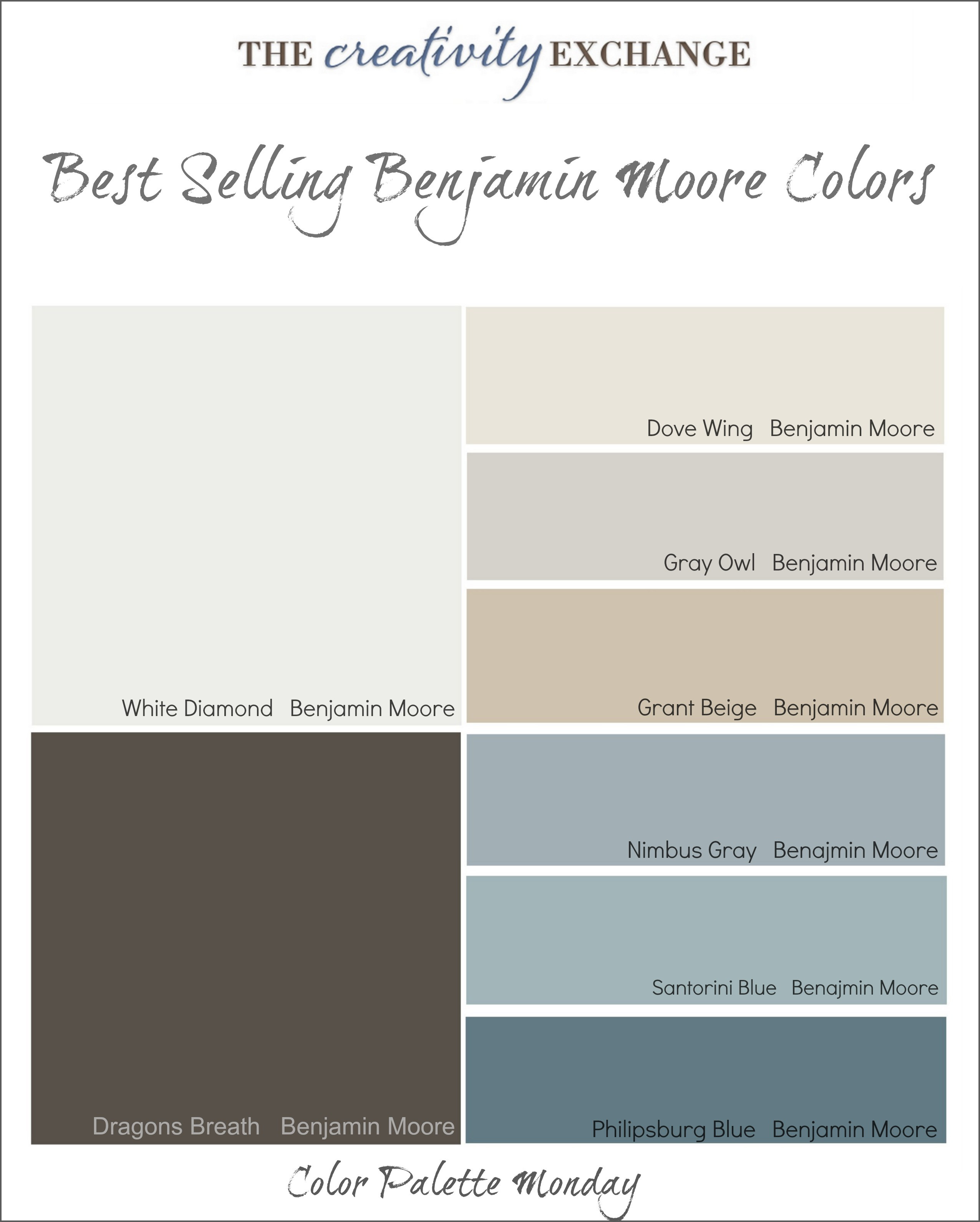 Best ideas about Best Gray Paint Colors Benjamin Moore . Save or Pin Best Selling Benjamin Moore Paint Colors Now.