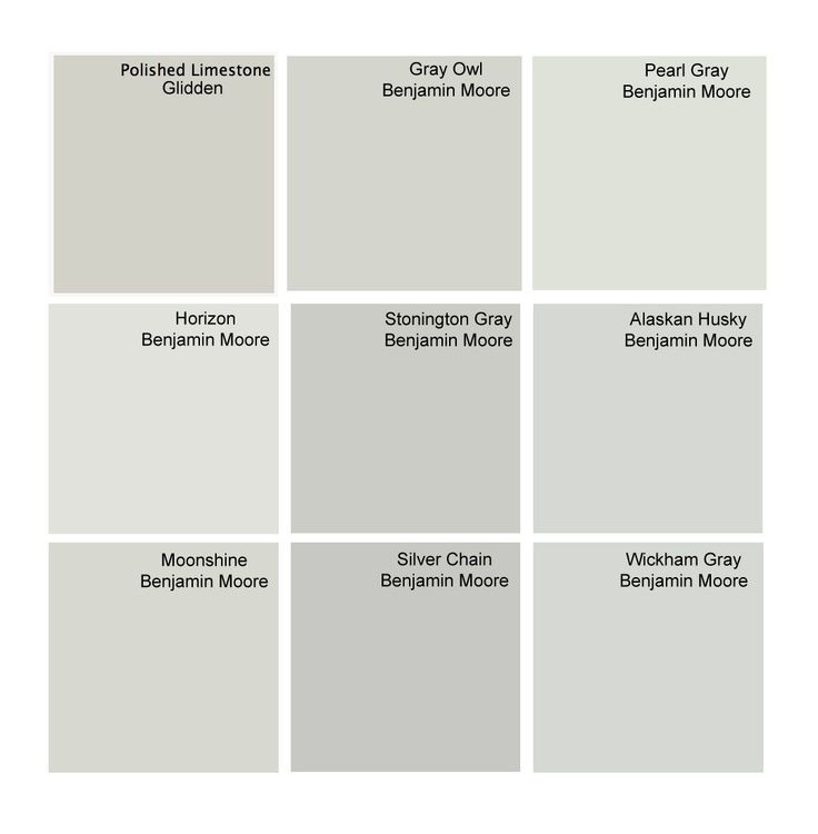 Best ideas about Best Gray Paint Colors Benjamin Moore . Save or Pin Best gray paint colors Glidden Polished Limestone Now.