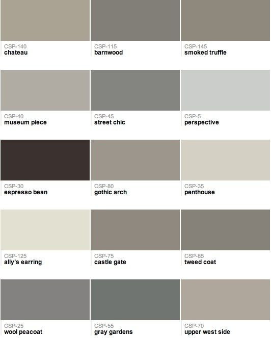 Best ideas about Best Gray Paint Colors Benjamin Moore . Save or Pin Popular Benjamin Moore paint colors Now.