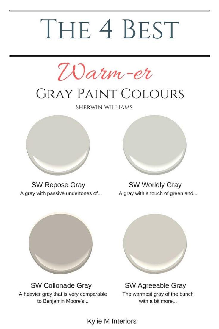 Best ideas about Best Gray Paint Colors . Save or Pin 25 best ideas about Warm gray paint on Pinterest Now.