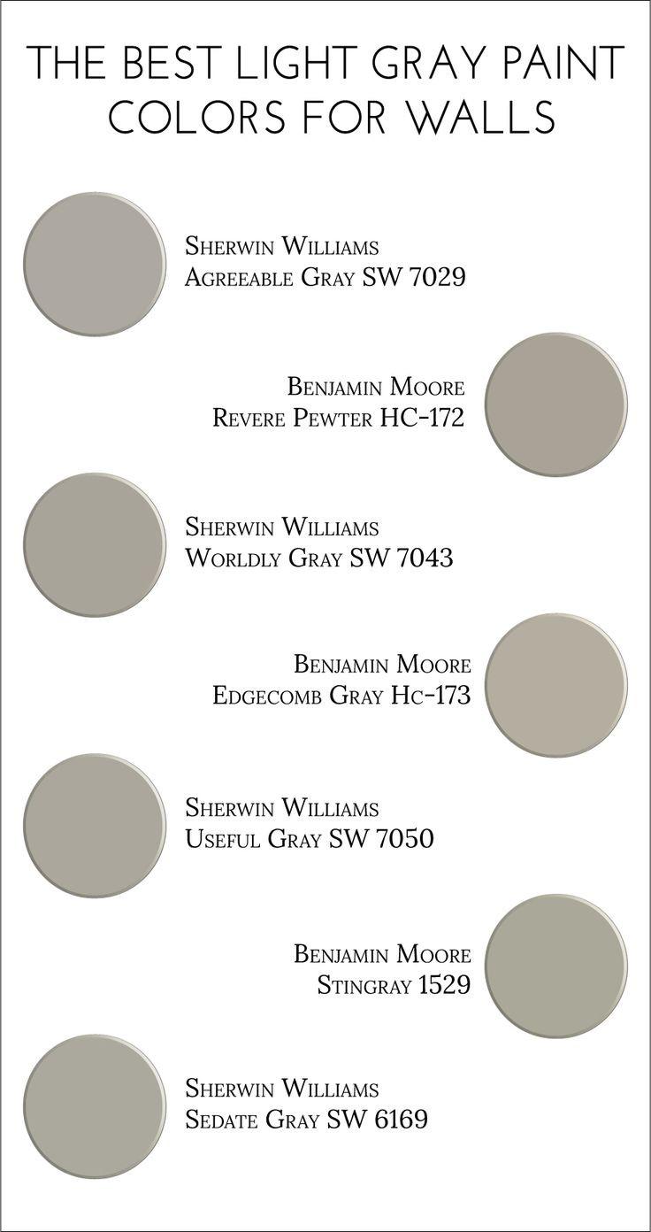 Best ideas about Best Gray Paint Colors . Save or Pin Best 25 Best gray paint ideas on Pinterest Now.