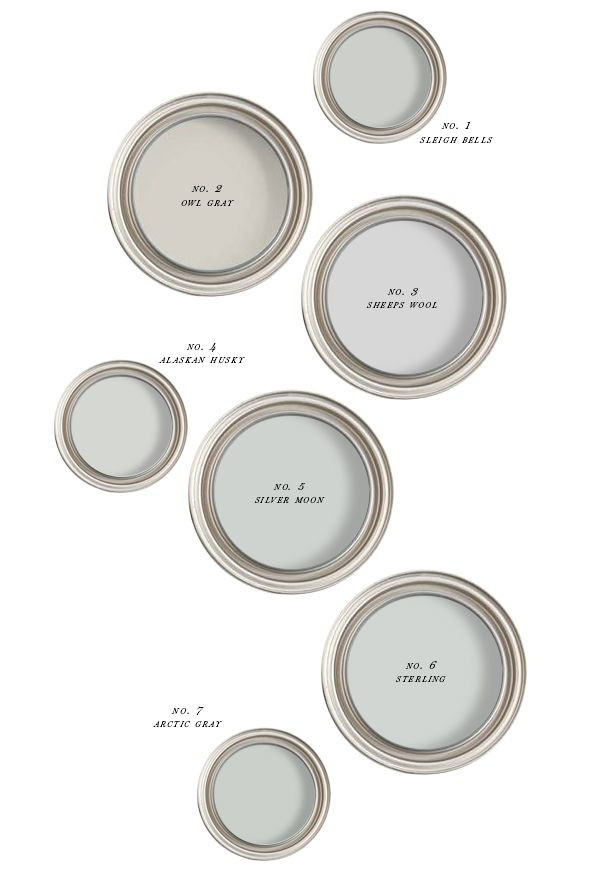 Best ideas about Best Gray Paint Colors . Save or Pin The Best Creamy Gray Paint Earnest Home co Now.