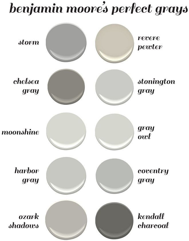 Best ideas about Best Gray Paint Colors . Save or Pin 25 best ideas about Benjamin Moore Gray on Pinterest Now.