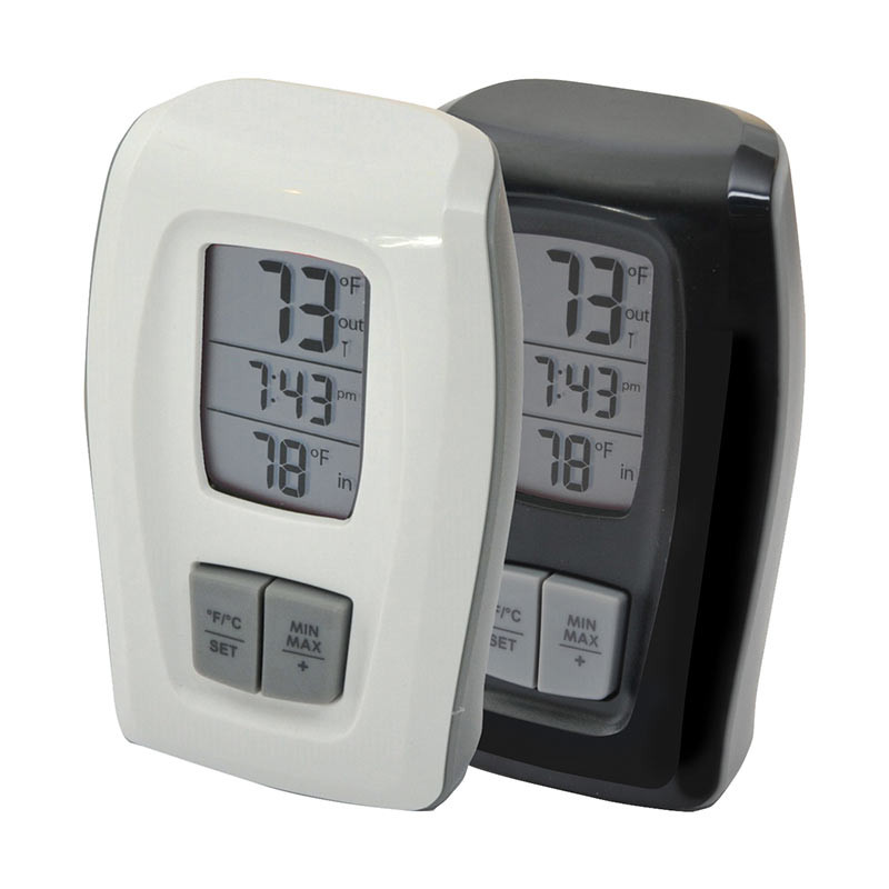 Best ideas about Best Indoor Outdoor Thermometer . Save or Pin AcuRite Digital Indoor Outdoor Thermometer with Clock Now.