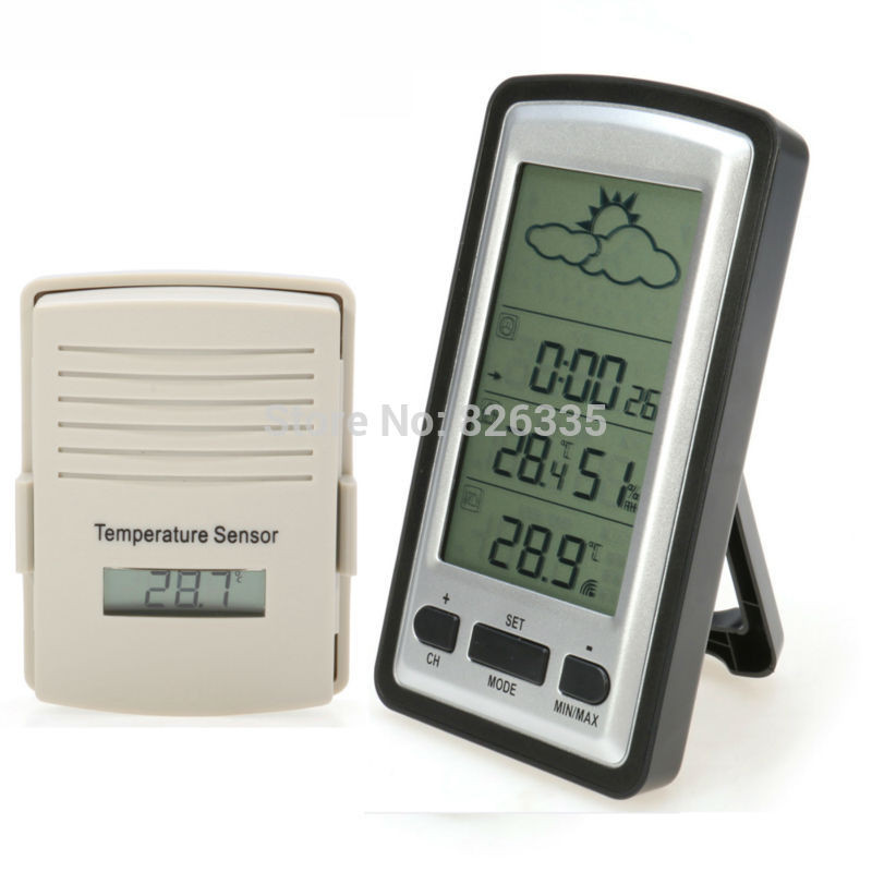 Best ideas about Best Indoor Outdoor Thermometer . Save or Pin Aliexpress Buy Digital Wireless Indoor Outdoor Now.