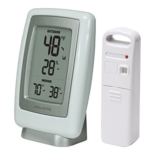 Best ideas about Best Indoor Outdoor Thermometer . Save or Pin Best AcuRite A3 Wireless Indoor Outdoor Thermometer Now.