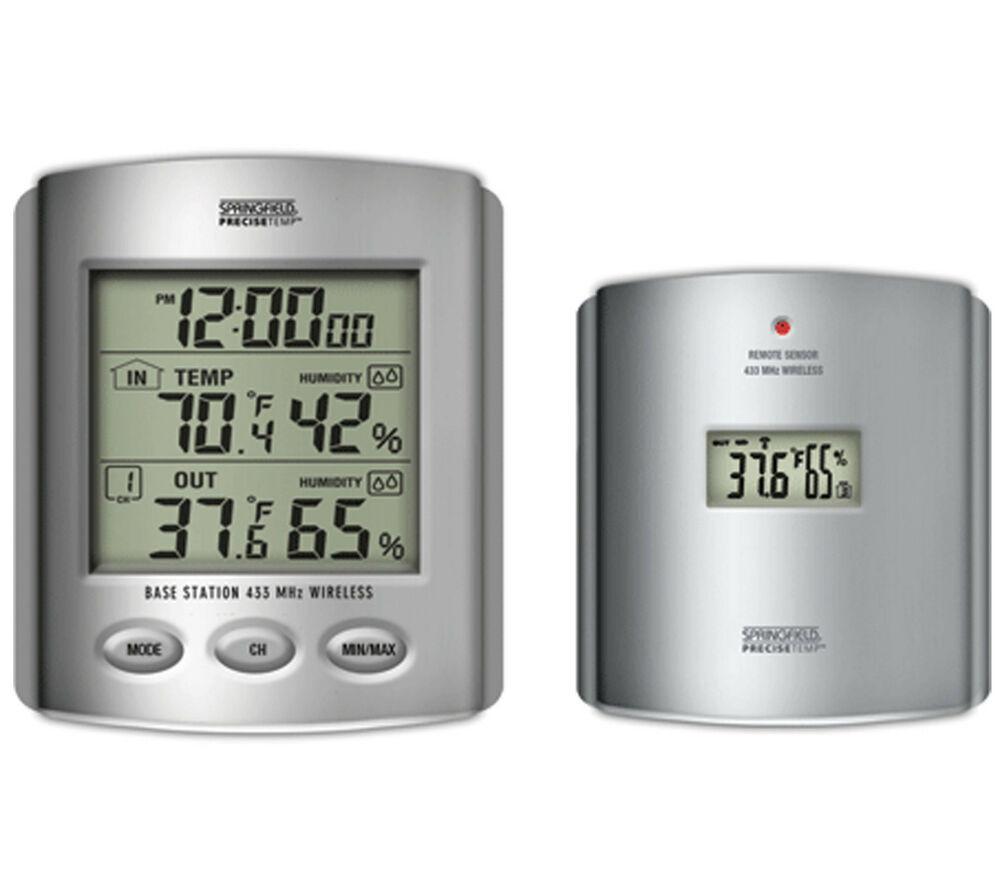 Best ideas about Best Indoor Outdoor Thermometer . Save or Pin Wireless Indoor Outdoor Thermometer Temperature Humidity Now.