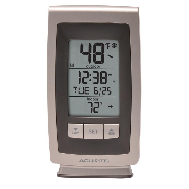 Best ideas about Best Indoor Outdoor Thermometer . Save or Pin AcuRite Digital Indoor Outdoor Thermometer with Intelli Now.