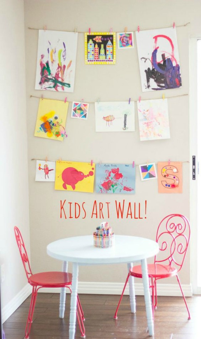 Best ideas about Best Kids Art . Save or Pin The 11 Best Kids Art Display Ideas Now.