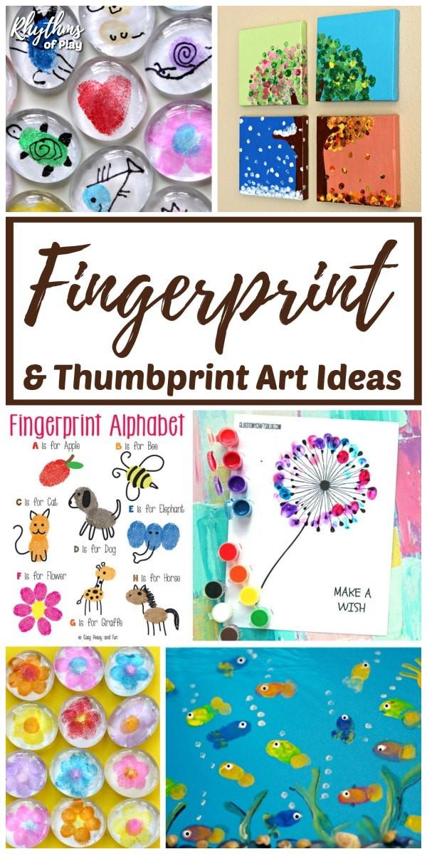 Best ideas about Best Kids Art . Save or Pin The Best Fingerprint and Thumbprint Art Ideas for Kids Now.