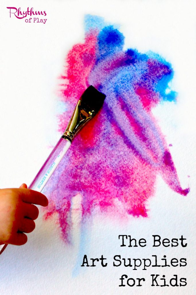 Best ideas about Best Kids Art . Save or Pin The Best Art Supplies for Kids Rhythms of Play Now.