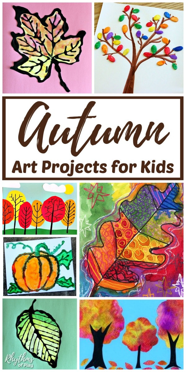 Best ideas about Best Kids Art . Save or Pin The Best Fall Art Projects for Kids Now.