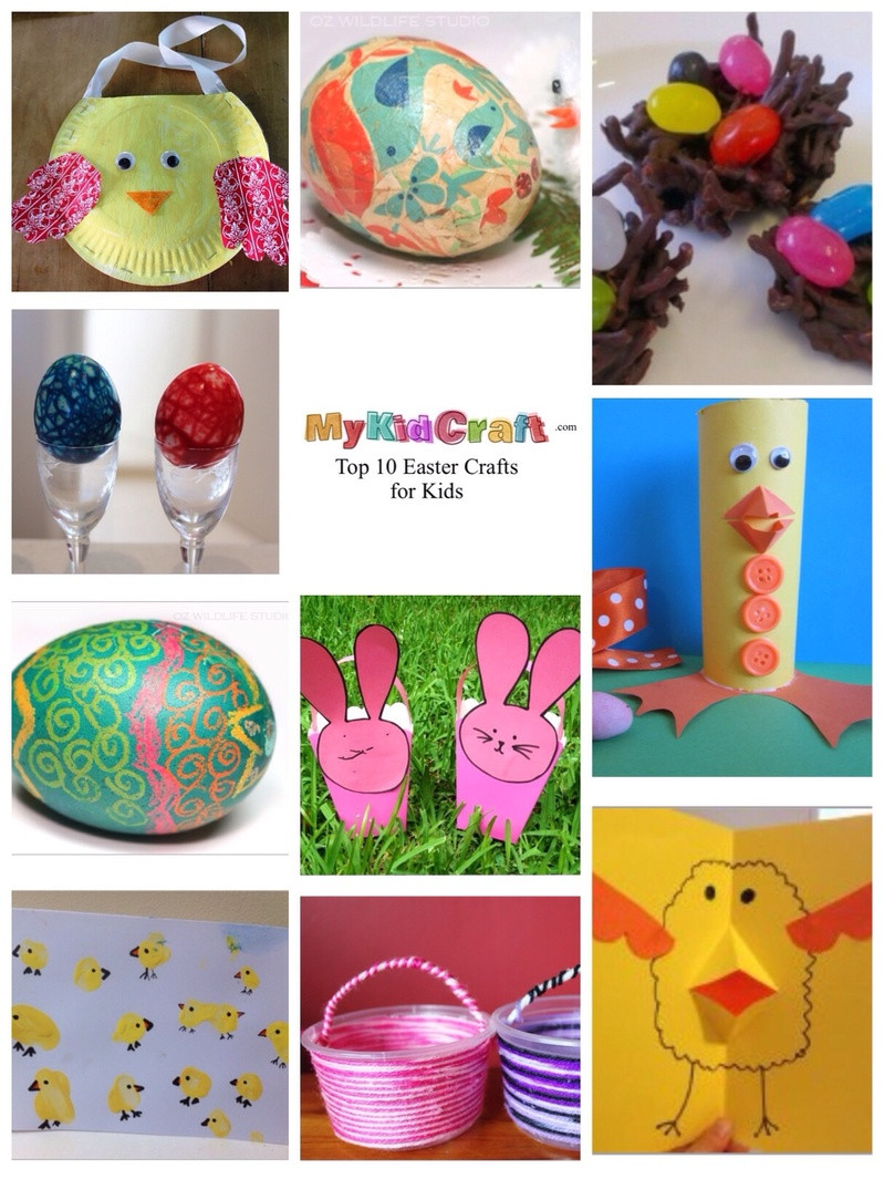 Best ideas about Best Kids Craft . Save or Pin Top 10 Easter Crafts for Kids My Kid Craft Now.