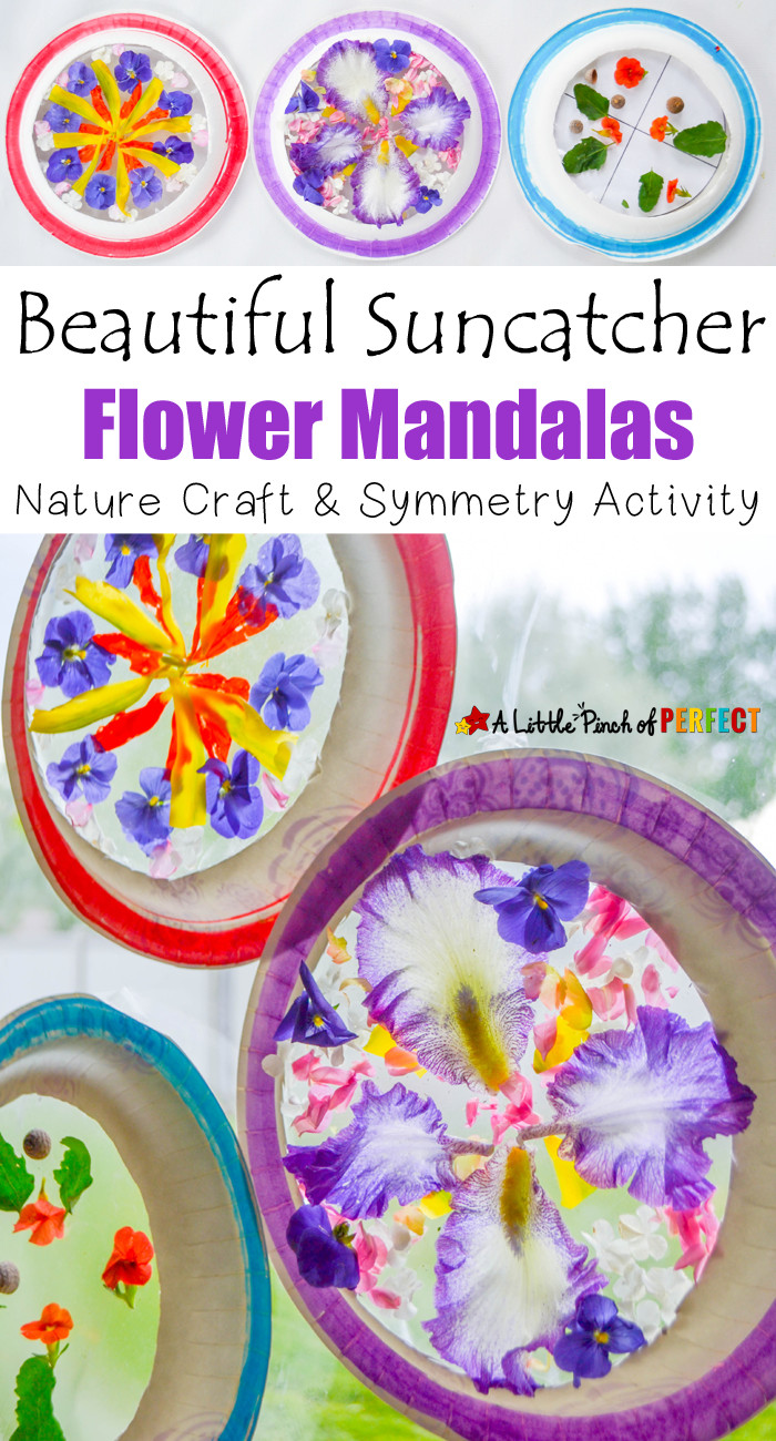 Best ideas about Best Kids Craft . Save or Pin Beautiful Suncatcher Mandalas Nature Craft and Symmetry Now.