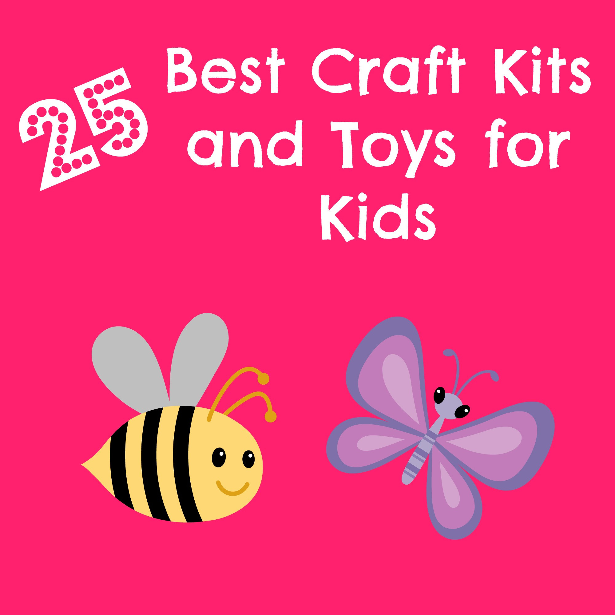 Best ideas about Best Kids Craft . Save or Pin Best Craft Kits and Craft Toys For Kids Carefree Crafts Now.