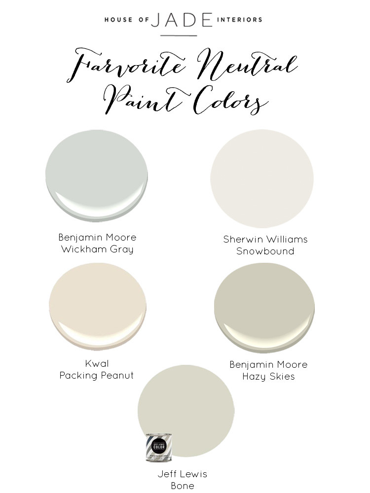 Best ideas about Best Neutral Paint Colors . Save or Pin Our Favorite Neutral Paint Colors House of Jade Now.