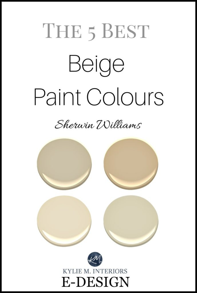Best ideas about Best Neutral Paint Colors . Save or Pin Sherwin Williams 5 of the Best Neutral Beige Paint Colours Now.