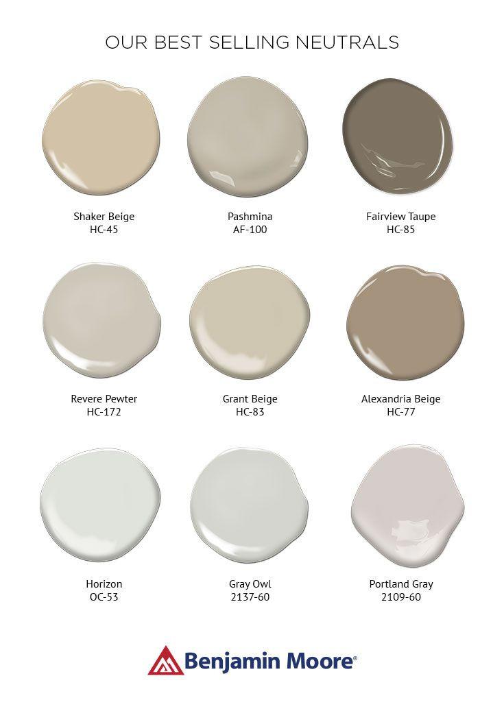 Best ideas about Best Neutral Paint Colors . Save or Pin 17 best ideas about Beige Paint Colors on Pinterest Now.