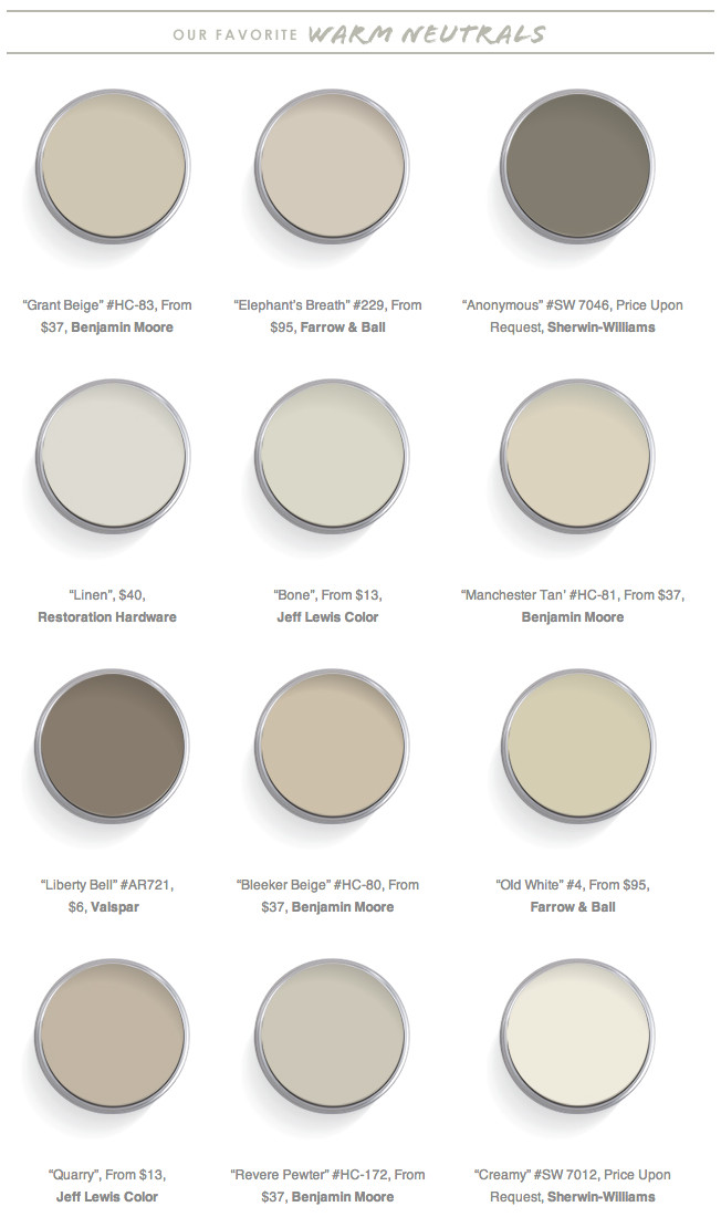 "Best ideas about Best Neutral Paint Colors . Save or Pin Interior Designers Call These the ""Best Neutral Paint Now."