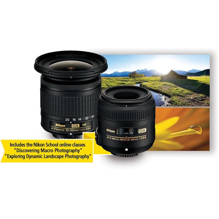 Best ideas about Best Nikon Lens For Landscape . Save or Pin Nikon Landscape & Macro Lens Kit Now.