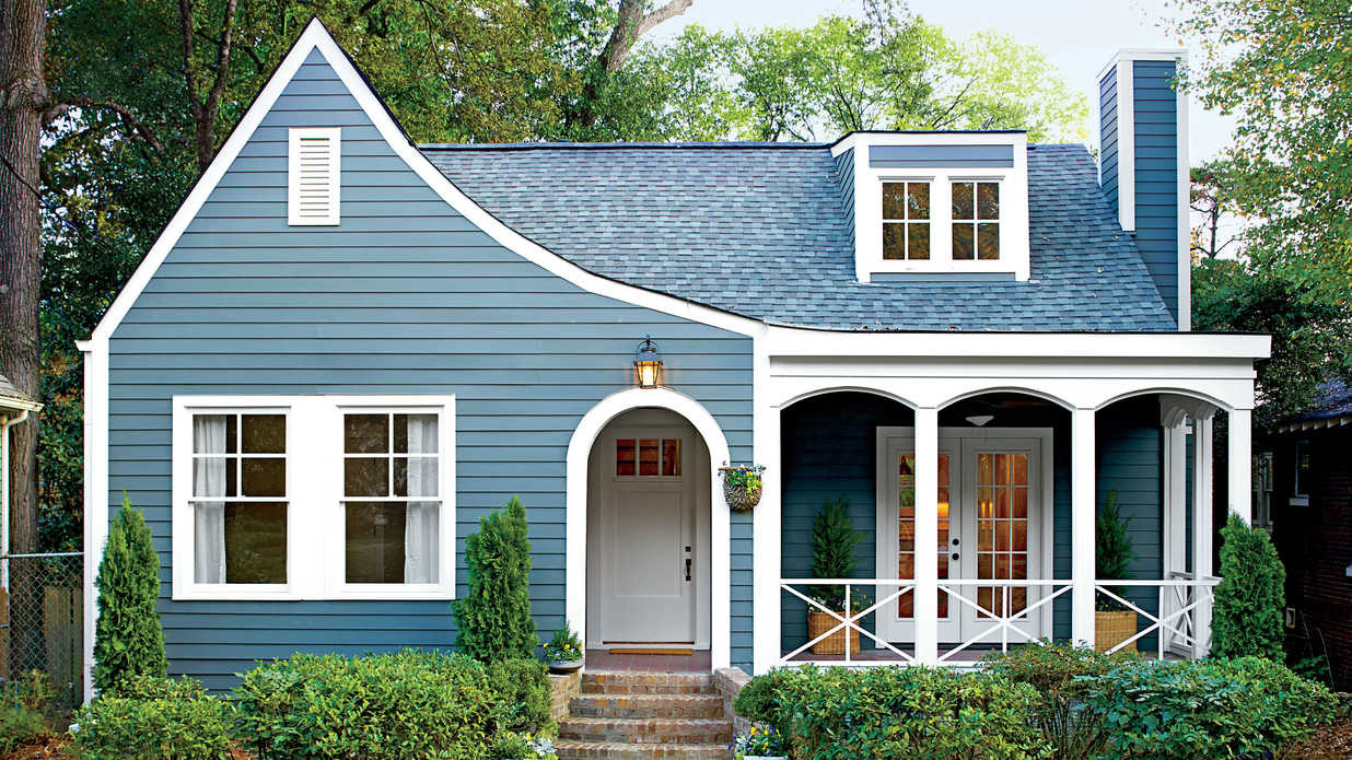 Best ideas about Best Outdoor Paint . Save or Pin Best Exterior Makeover Southern Living Now.