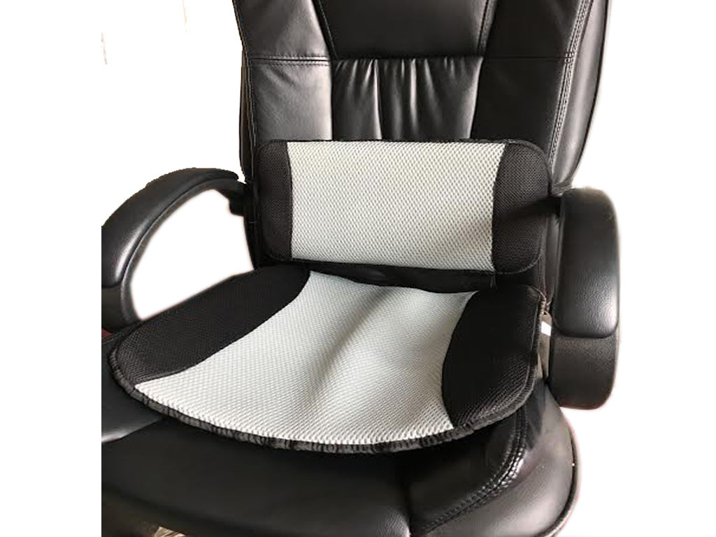 Best ideas about Best Seat Cushion For Office Chair . Save or Pin CAR COOLING LUMBAR BACK SUPPORT PILLOW & SEAT CUSHION Now.