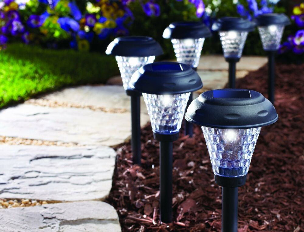 Best ideas about Best Solar Landscape Lights . Save or Pin Solar Landscape Lights 8 Set Pathway Outdoor Walkway Now.