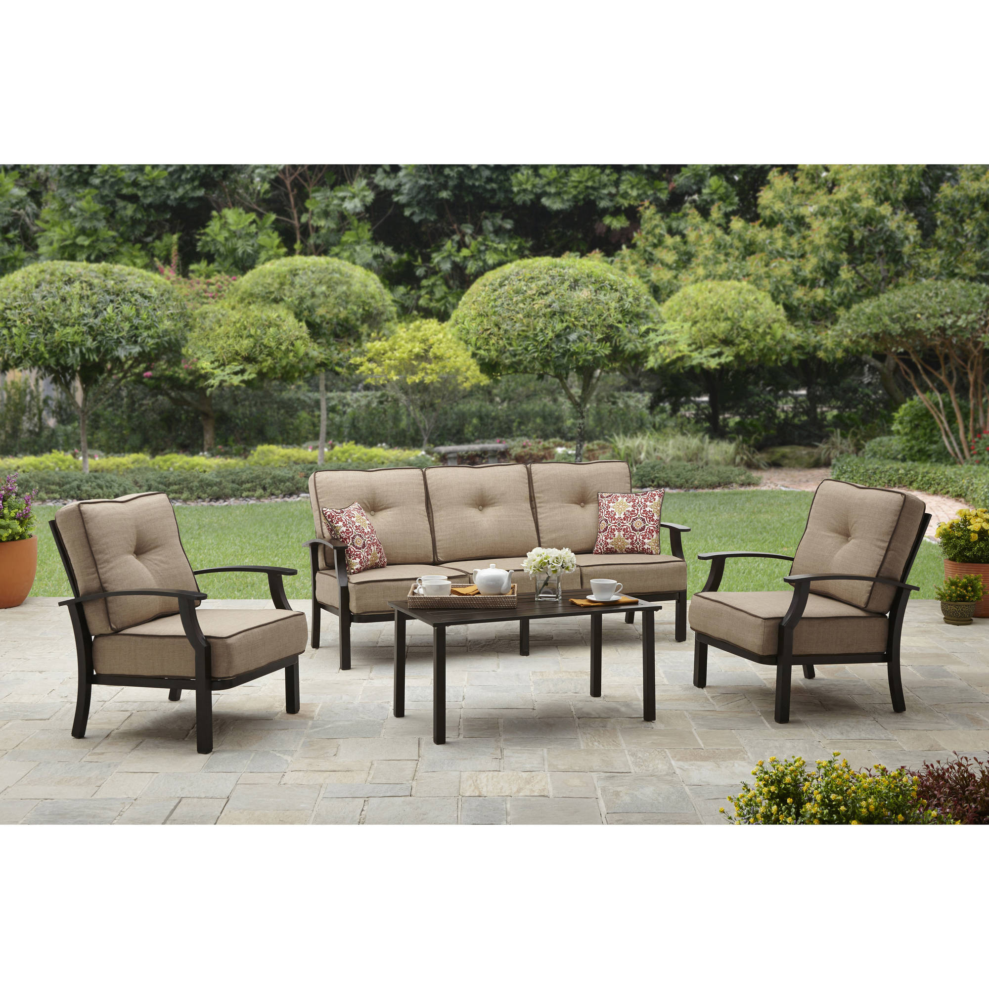 Best ideas about Better Homes And Gardens Patio Cushions . Save or Pin Better Homes and Gardens Clayton Court 5 Piece Patio Now.