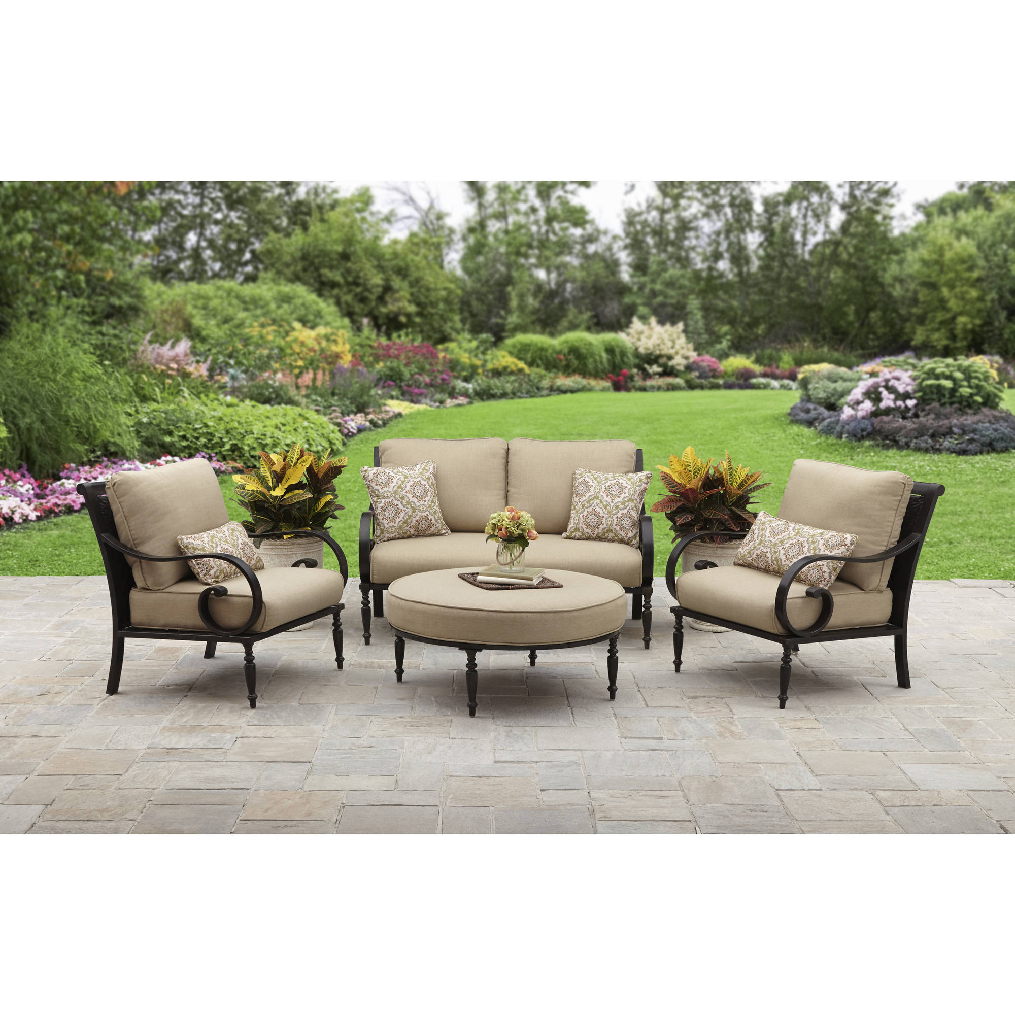 Best ideas about Better Homes And Gardens Patio Cushions . Save or Pin Better Homes And Gardens Englewood Heights Ii Aluminum Now.