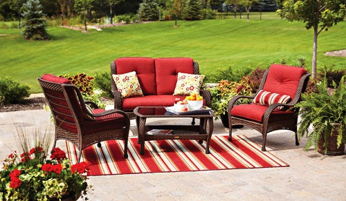 Best ideas about Better Homes And Gardens Patio Cushions . Save or Pin Patio Furniture Cushions Better Homes And Gardens Type Now.